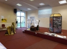 Yew Tree Hall with displays
