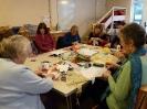 Jackie Smith's textile workshop