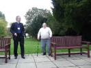 Dedicating the benches